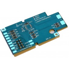 PCB for Marklin locos BR17, with 8 pin interface. Luessi 8050