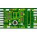 Decoder PCB for Marklin Re 460 and Ae 6/6 Locos. 21MTC connection. Lussi 8067