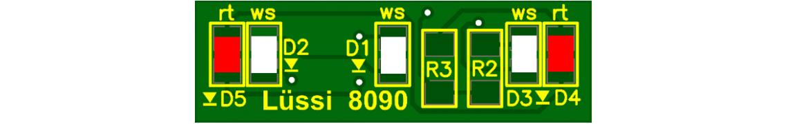 Universal-Lichtmodul für diverse Loks