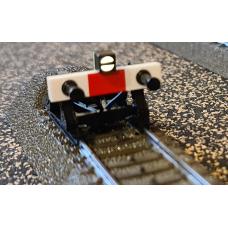 C-track bumper illuminated, warm white 'Special', Lüssi 8116