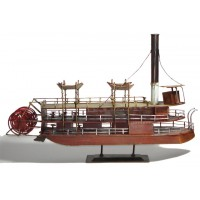 Tin Plate Paddle Steamer