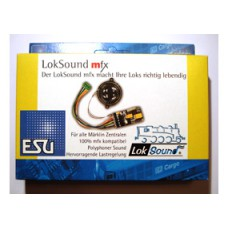 LokSound mfx Decoder, Universal-Neubau E-Lok Re 460