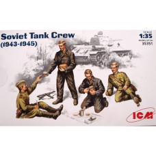 Sowjetische Panzerbesatzung 1943-1945