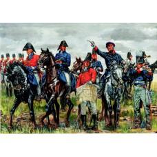 Britischer und Preussischer Alliierter Generalstab