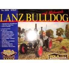 Lanz Bulldog mit Mähwerk