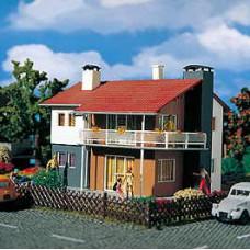 H0 Zweifamilienhaus. Vollmer 9220