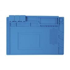 Silicone soldering pad large, heat-resistant, antistatic, 45cm x 30cm