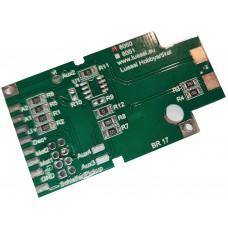 Printed circuit board for Märklin BR17, with 21mtc interface. Lussi 8050mtc