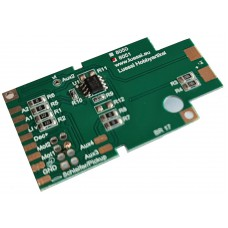 Printed circuit board for Märklin BR17, with 21mtc interface, Aux3/4 amplified. Lussi 8051mtc
