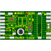 Decoder PCB for Marklin Re 460 and Ae 6/6 Locos. 21MTC connection. Lussi 8068
