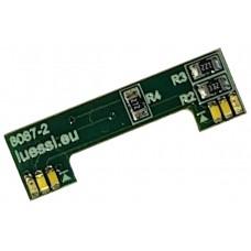 Light module for Marklin Re 460. White/2x red/head light. Lussi 8087-2