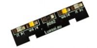 Light module for HAG Re 460, LED white/red. Lüssi 8092