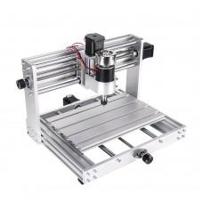 CNC milling cutter and laser 15W machine, Luessi 9100