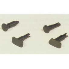 Set of buffers for Re 4/4, round. HAG 165032-75