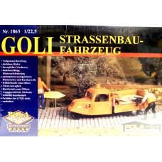 Strassenbau-Fahrzeug Goli